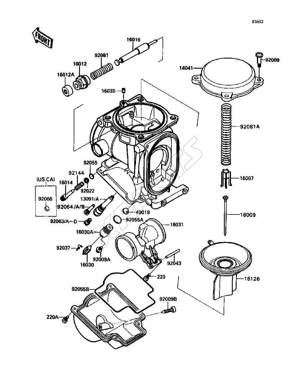 1981 trans am parts catalog