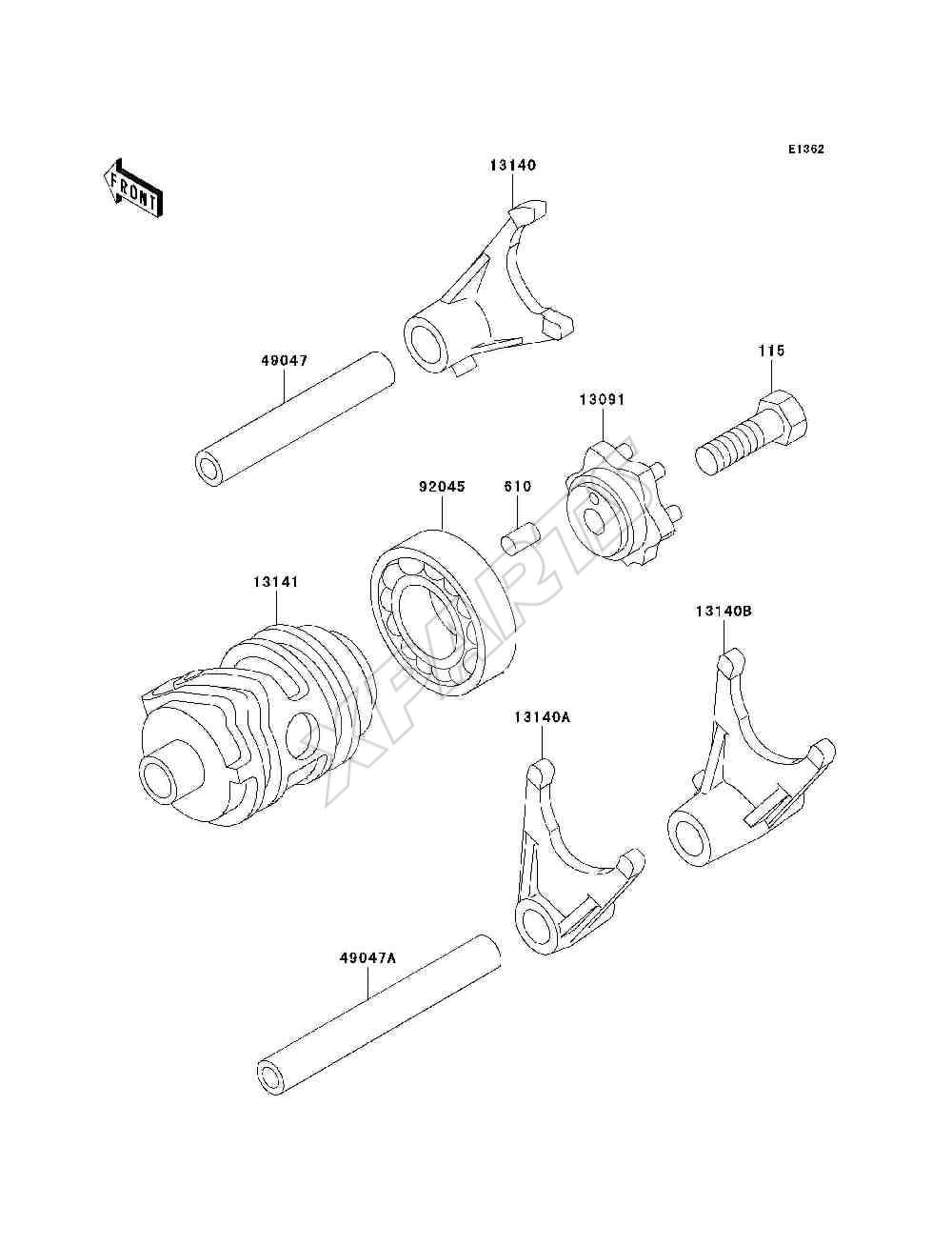 honda 4 er carburetor diagram