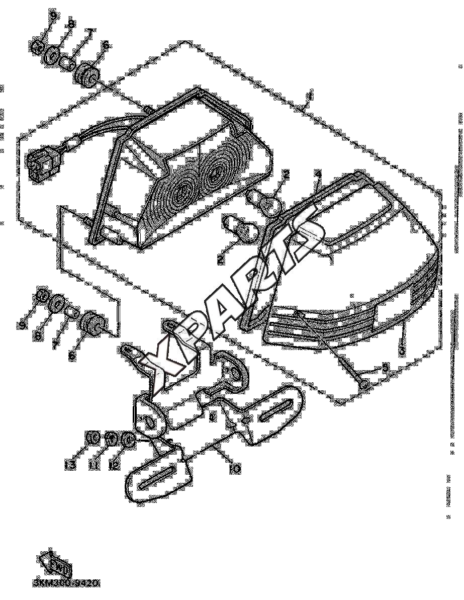 yamaha xj 600 fra 1990  u2013 originale reservedele fra xparts dk