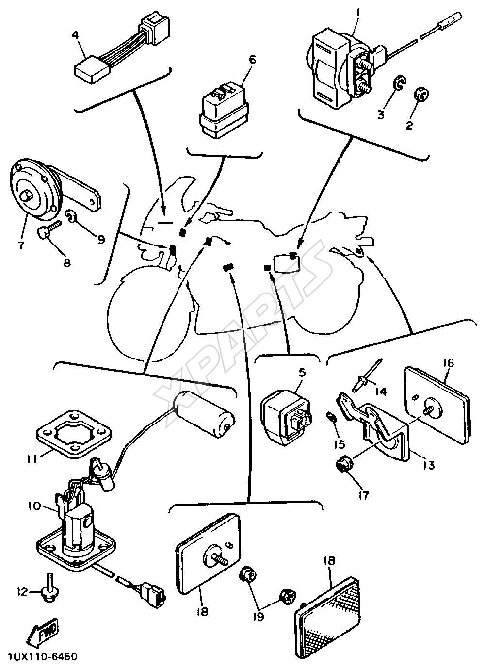 wiring diagram of yamaha crypton