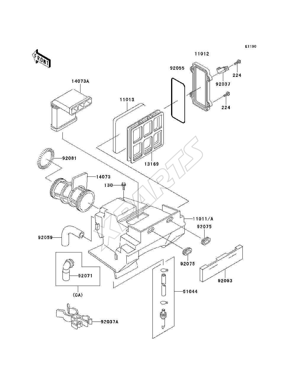 2002 klr 250 wiring diagram