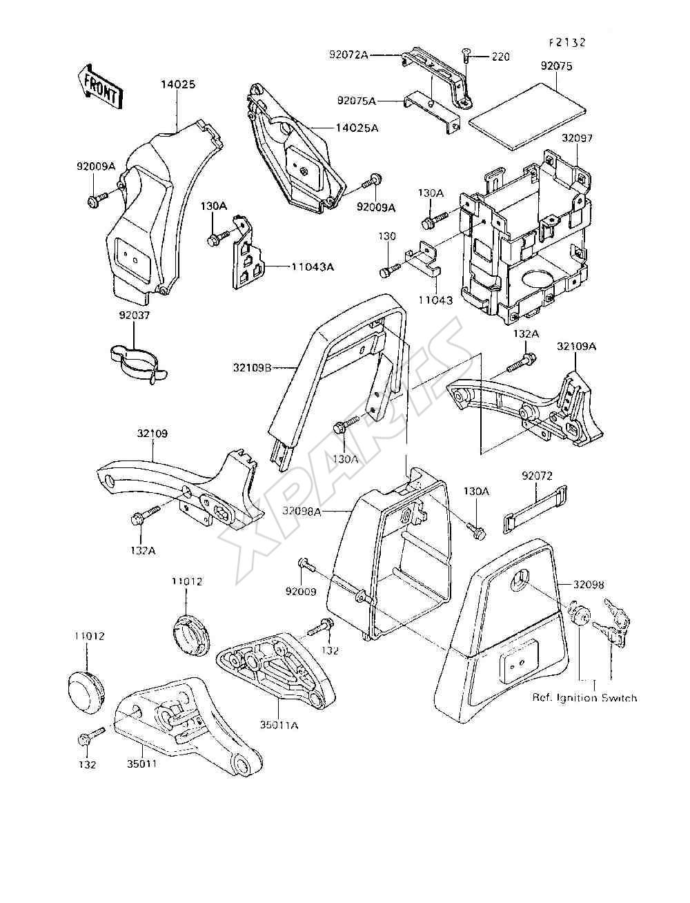 1995 Vulcan 750 Vn750 A11 Headlight Wiring Diagram Bild Fr Kategorie Battery Case