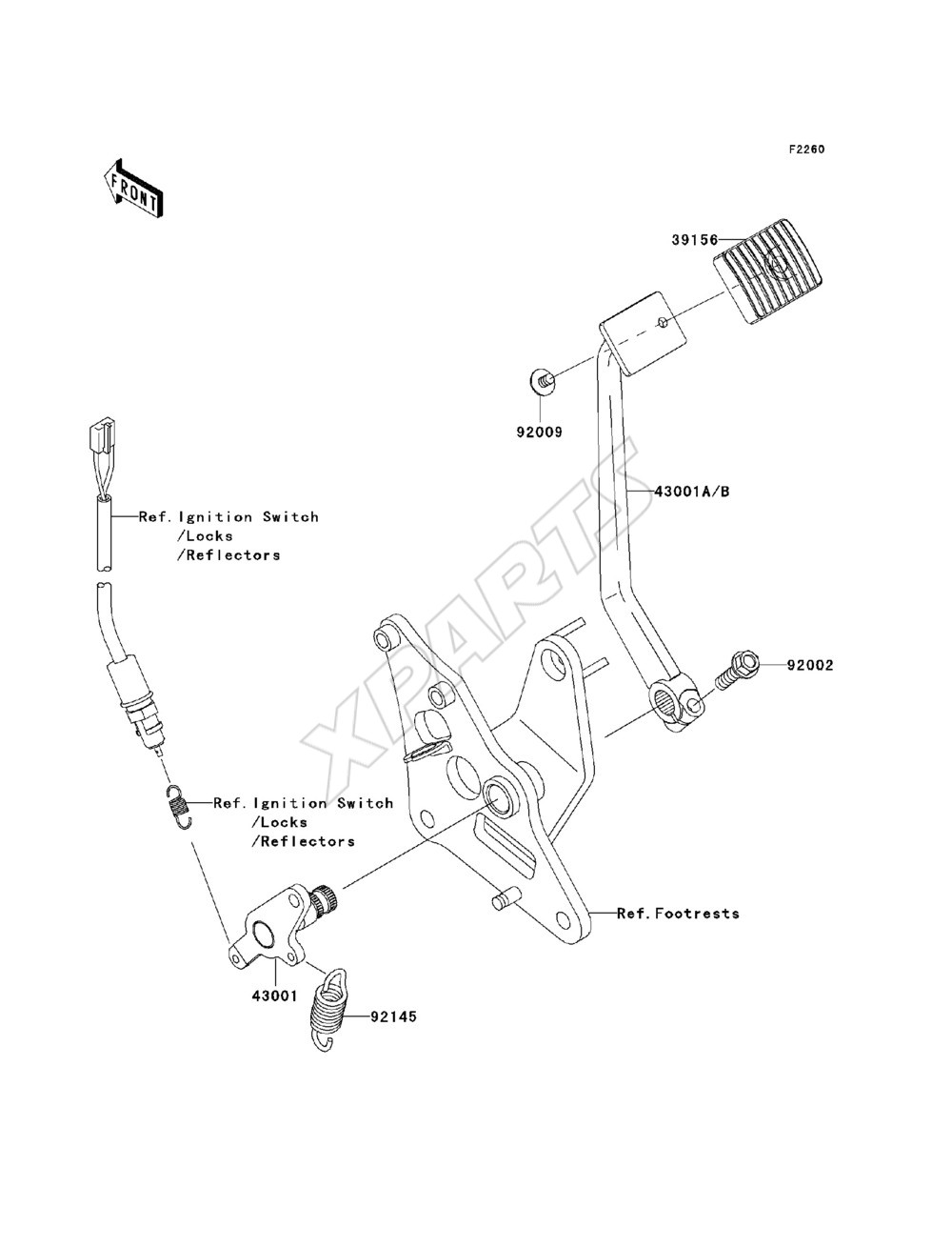 2011 Vulcan 900 Custom Vn900 Cbf Kawasaki Vaquero Wiring Schematics Picture For Category Brake Pedal Torque Link Cables