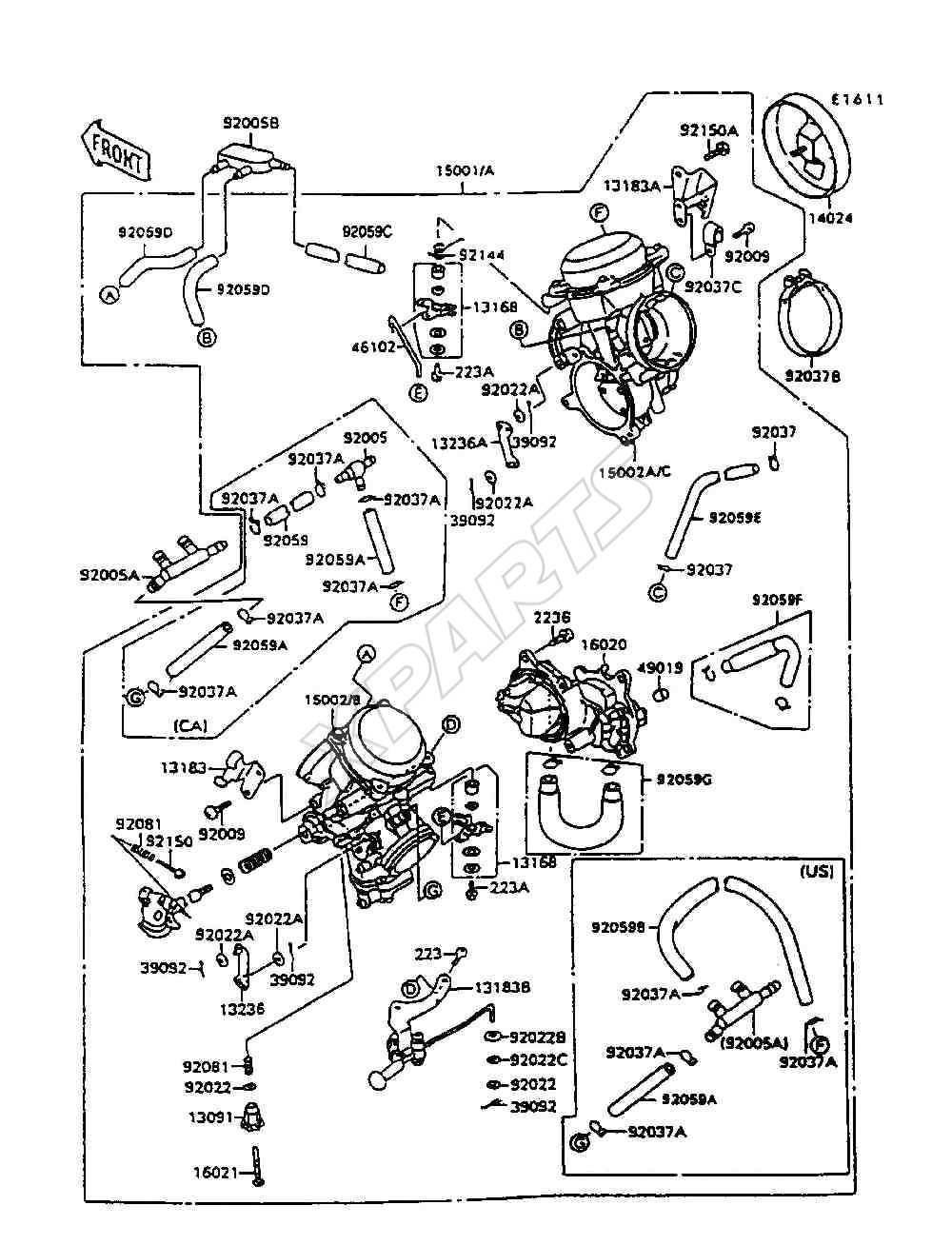 kawasaki ninja parts catalog