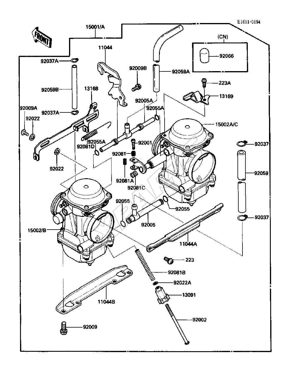 1986 Kawasaki 454 Ltd Wiring Diagram Car Diagrams Explained Images Gallery
