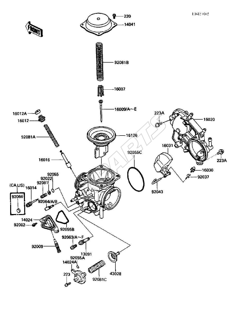 Kawasaki Vulcan 750 Fuel Line Diagram