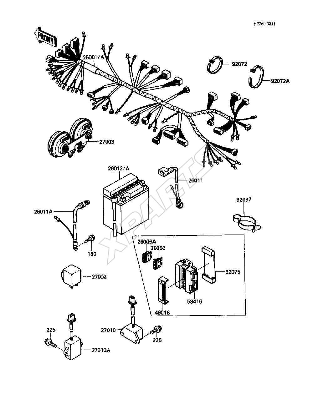 Kawasaki Vulcan 750 (VN750-A2) fra 1986 – Originale reservedele fra on suzuki gsx 750 wiring diagram, suzuki gsxr 750 wiring diagram, kawasaki vulcan 500 wiring diagram, kawasaki ex500 wiring diagram, kawasaki gpz1000rx wiring diagram, yamaha 750 wiring diagram, kawasaki voyager xii wiring diagram, kawasaki vulcan 2000 wiring diagram, suzuki gs 750 wiring diagram, kawasaki kz750 wiring diagram, kawasaki vulcan 1500 wiring diagram, kawasaki mule 500 wiring diagram, kawasaki teryx 750 wiring diagram, kawasaki vulcan 900 exhaust modification, kawasaki kz1000 wiring diagram, kawasaki vulcan 800, kawasaki mean streak wiring diagram, kawasaki concours wiring diagram, kawasaki atv wiring diagram, kawasaki vulcan 900 wiring diagram,