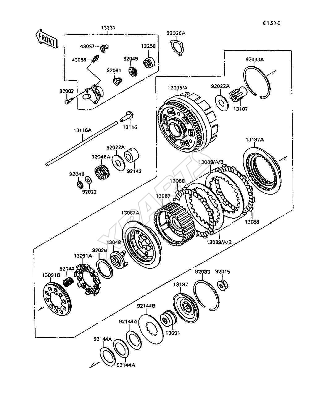 1995 Kawasaki Vulcan 1500 Wiring Diagram And Schematics 98 300 Bayou Clic M35a2 Electric 49200282 Wiringhtml