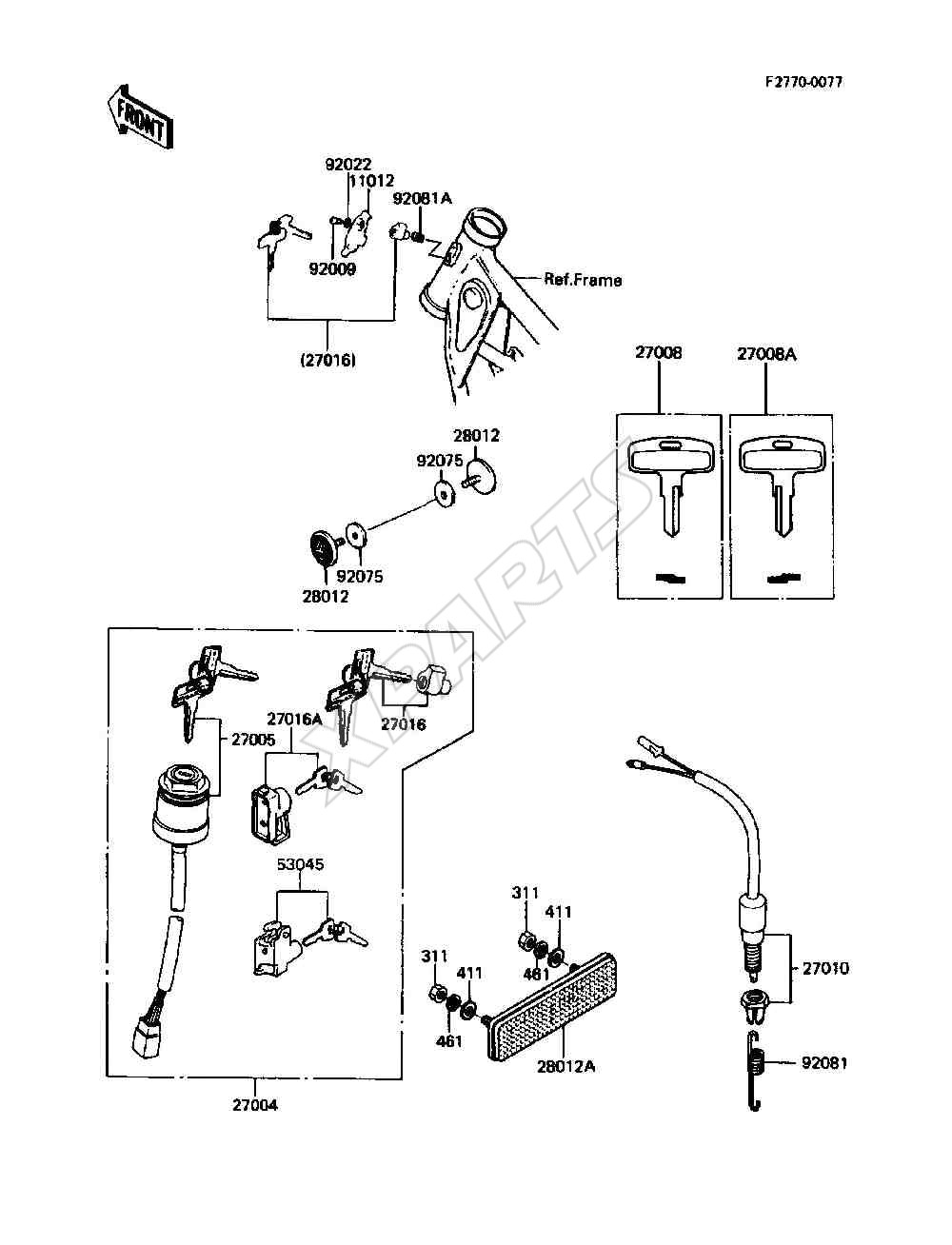 1989 Ke100 B8 Fuse Box Diagram 1997 F 350 Picture For Category Ignition Switch