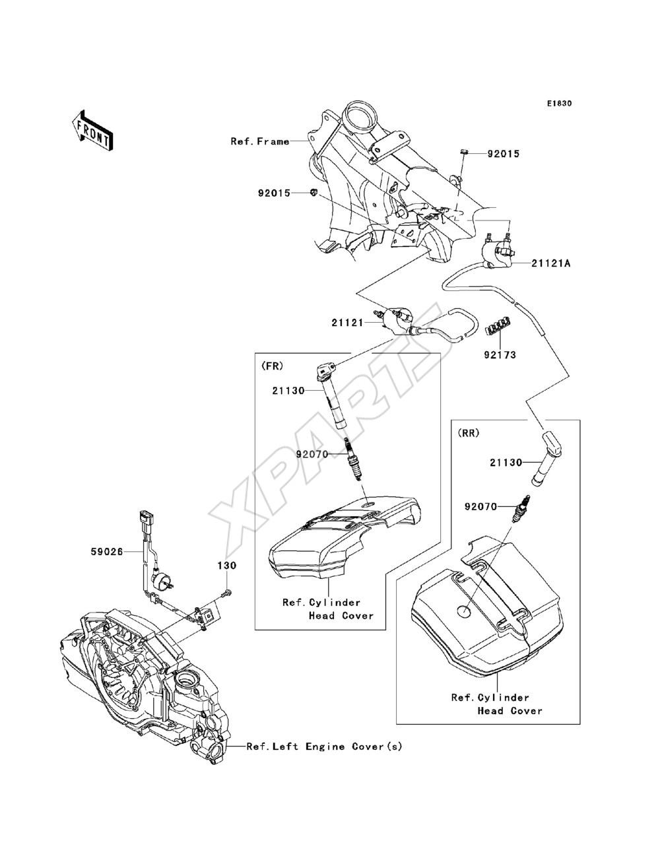 2013 Vulcan 1700 Voyager Vn1700 Adf 94 Ford Explorer Engine Diagram Knock Bild Fr Kategorie Ignition System
