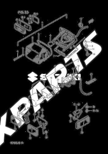 Rear Combination Lamp Except Model Fmodel K L M E1e24