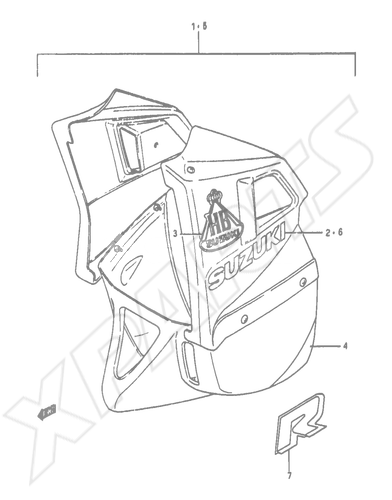 Suzuki Rg50 Wiring Diagram
